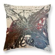 In Ruins Part 1 Throw Pillow