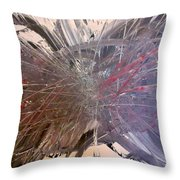 In Ruins Part 2 Throw Pillow