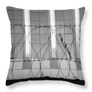In Safety Throw Pillow