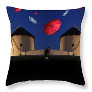 In Search Of Beauty 2 Throw Pillow