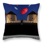 In Search Of Beauty Throw Pillow