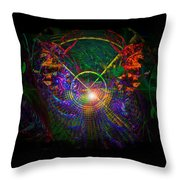 In Search Of Cosmic Pi 3.14 Throw Pillow