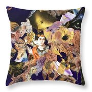 In Search Of Jesus Throw Pillow