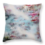 In Search Of The Aliana Throw Pillow