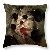 In Search Of The Lost Chord Throw Pillow