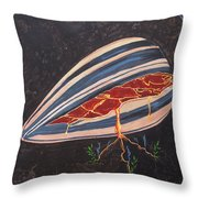 In Seed Throw Pillow