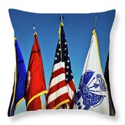 In Service Throw Pillow