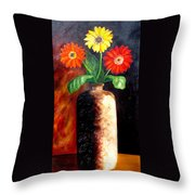 In Sharp Contrast.  Sold Throw Pillow