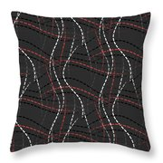 In Stitches Throw Pillow