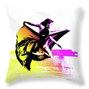 In Strength, Beauty Il Throw Pillow