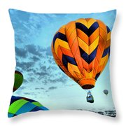 In Take Off Mode Throw Pillow