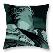 In The Abstract Cut Throw Pillow