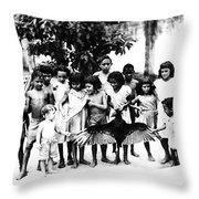 In The Amazon 1953 Throw Pillow
