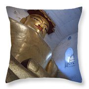 In The Ancient Temple Throw Pillow
