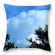 In The Anteroom Of The Mountain Gods 001 Throw Pillow