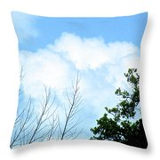 In The Anteroom Of The Mountain Gods 002 Throw Pillow