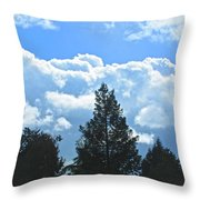 In The Anteroom Of The Mountain Gods 004 Throw Pillow