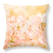 In The Arms Of Spring Throw Pillow