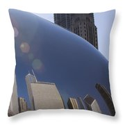 In The Bean Throw Pillow