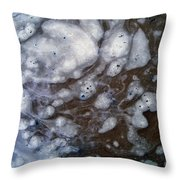 In The Beginning - Creationism Expressionism Throw Pillow