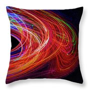 In The Beginning-right Throw Pillow