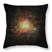In The Blink Of An Eye Throw Pillow