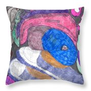 In The Box Throw Pillow