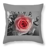 In The Center Throw Pillow