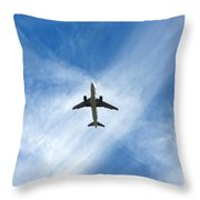 In The Cloud X Zone Throw Pillow