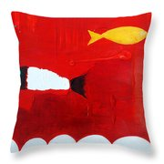 In The Clouds Part 3 Throw Pillow