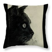 In The Dark Throw Pillow