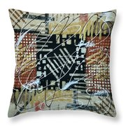 In The Depth Of My Mind Throw Pillow