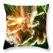 In The Depths Of An Interstellar Sea Throw Pillow