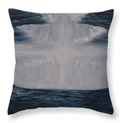 In The Depths Of Truth Throw Pillow
