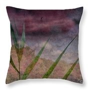 In The Distance Is The Season Throw Pillow