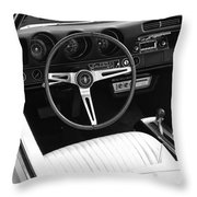 In The Driver's Seat 2 Throw Pillow