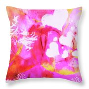 In The Far Distance Throw Pillow