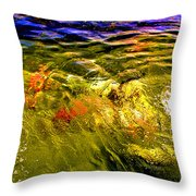 In The Flow 2 Throw Pillow