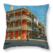 In The French Quarter - 3 Throw Pillow