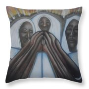 In The Fury Fire Throw Pillow