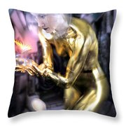 In The Future Throw Pillow