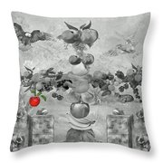 In The Garden Of Eden Throw Pillow