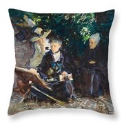 In The Generalife Throw Pillow