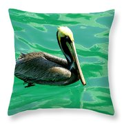 In The Green Zone Throw Pillow