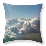 In The Heavenlies Throw Pillow