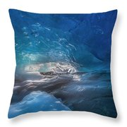 In The Ice Throw Pillow