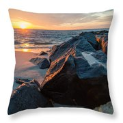 In The Jetty Throw Pillow