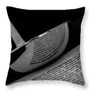 In The Kitchen Throw Pillow