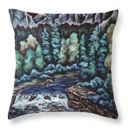 In The Land Of Dreams Throw Pillow
