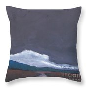 In Light Of The Clouds Throw Pillow